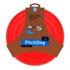 PitchDog létající Disk pro psy růžový 24cm