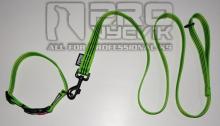 Sada zelená s pruhy v černém 25mm/ 35 - 45cm