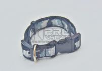 Obojek maskáč zimní- 15mm/23-34cm