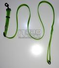 Vodítko posuvné zelené pruh 25mm/120-200cm - černé
