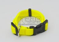 Obojek žlutý reflex- 15mm/23-34cm