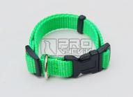 Obojek zelený reflexní - 15mm/23-34cm