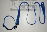 Sada modrá v černém 25mm/ 45 - 65cm
