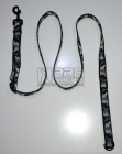 Vodítko posuvné zimní maskáč 25mm/120-200cm - černé
