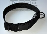 Obojek černý - Black Metal- 30mm/ 35 - 45cm