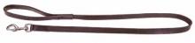 Vodítko kožené s uchem 120x2cm