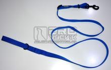Vodítko posuvné modré 25mm/120-200cm - černé