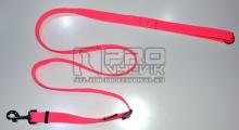 Vodítko posuvné růžové 25mm/120-200cm - pochrom