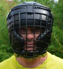 Ochranná  maska - pěnová s mřížkou