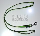 Vodítko pogumované fluo. proužek zelený 1,5m/20mm