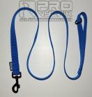 Vodítko modré 25mm / 1, 1,5, 2m , v černé