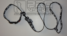 Sada maskáč zimní v černém 25mm/ 35 - 45cm