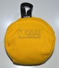 Balon ring střední žlutý