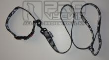 Sada maskáč zimní v černém 25mm/ 45 - 65cm